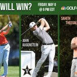 Image for the Tweet beginning: Remember to watch @GolfChannel tomorrow
