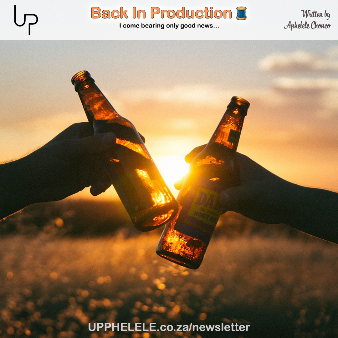 Guess who's back?  Have a read from the latest post on the #UP_newsletter    http://upphelele.co.za/newsletter   #UP_PHELELE #UP_PHELELEnewsletter #UP_Newsletter #BackInProduction #BackToBusiness #Back #Business #FashionBusiness #Fashion #FashionProduction #Production #NewProductAlertpic.twitter.com/fJ7yxkGUGV