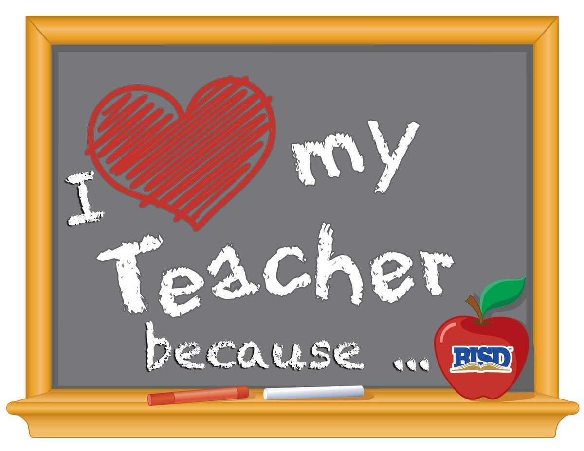 Birdville Isd On Twitter I Love My Teachers Because As Birdville Isd Celebrates Teacher Appreciation Week We Invite You To Share A Short Video Message On Why You Love Your