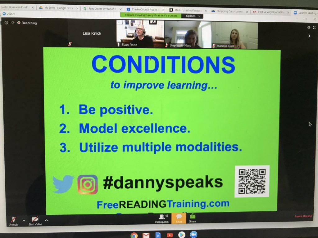 Danny Brassell says teachers love potlucks! D.G. Cooley Elementary teachers agree! Here is to remaining positive during the coronavirus! @CESGoPanthers @CCPS_VA @MTinsman_edu @lstanley_edu #dannyspeaks <br>http://pic.twitter.com/PAEJ0Kjj0n