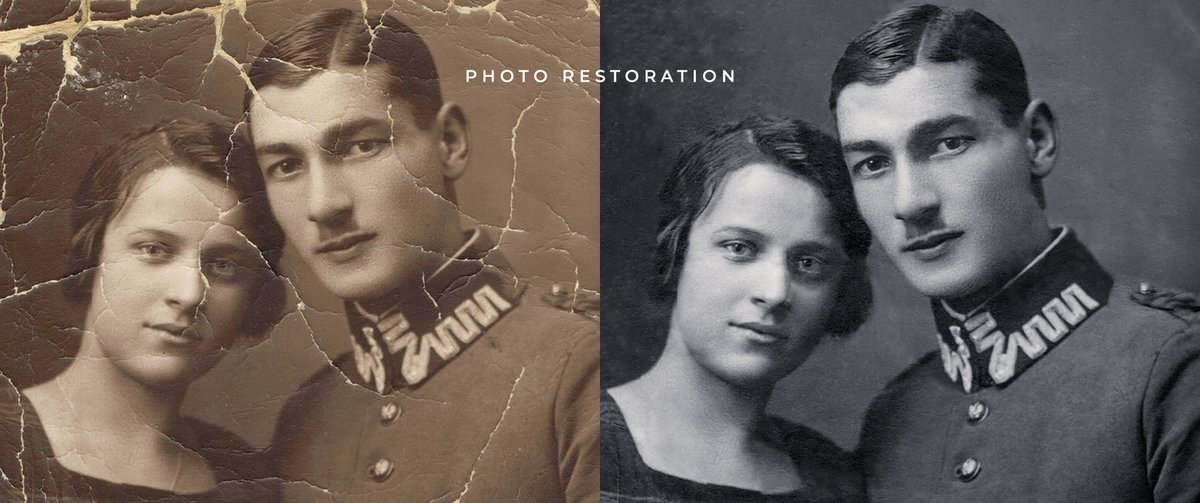 Seeking ways to bring back the lost glory of your old, torn, or damaged photographs? Get our affordable #photorestorationservices!  #damagedphoto #photorepair #oldphoto #photorestoration #photoediting #oldphotograph #vintagephoto  Get to know the service! https://www.fotovalley.com/services/photo-manipulation/photo-restoration/…pic.twitter.com/FQBKgHiSfY