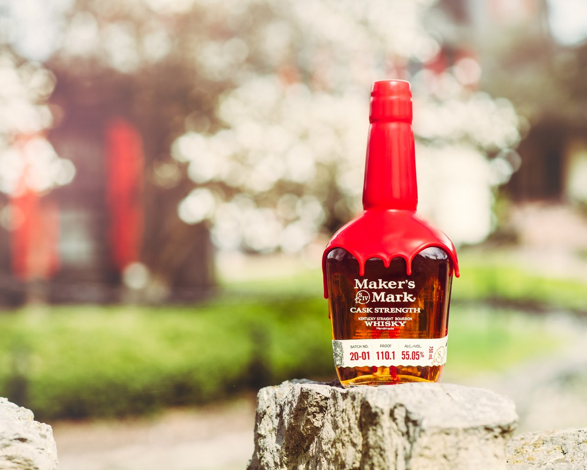 The boldest version of Maker's Mark just got a new bottle. Of course, the cask-strength bourbon inside – uncut and straight from the barrel – is staying the same. We've never been afraid of change. Unless you're talking about changing the bourbon. That will never happen. https://t.co/S5JBCMZmHy