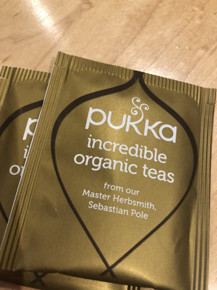 Oh @Pukkaherbs have I won a golden tea prize?? 🤞😂😂