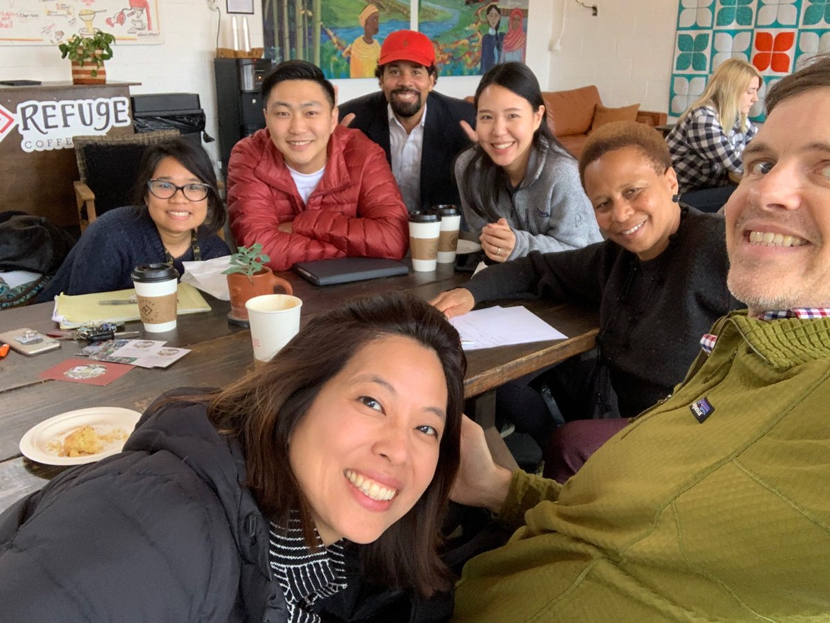 We took this pic in Feb when we met w/ the founders of @InitialView Regeneration Movement  along w/ our family @ircatlanta & began laying the groundwork for a partnership that would help us impact more students. Today we celebrate our official  partnership w/ @InitialView #tbtpic.twitter.com/D0ltID5wCN