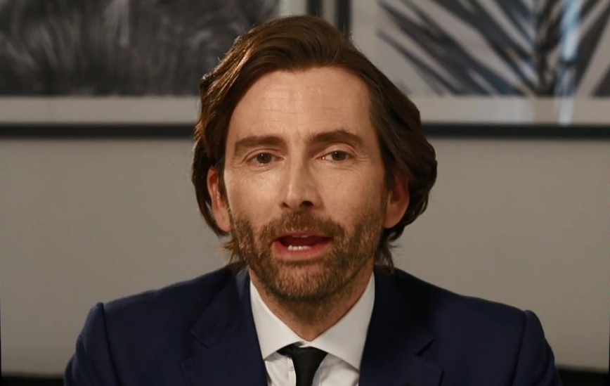David Tennant hosting Have I Got News For You - Thursday 7th May 2020