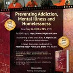 Image for the Tweet beginning: Preventing Addiction, Mental Illness, and