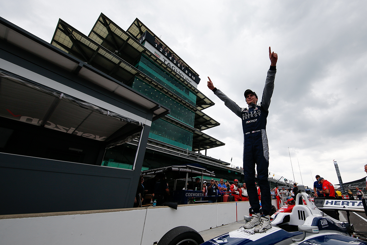 Throwing it back to one momentous month of May for @ColtonHerta, who swept all three races (#INDYCARGP and #Freedom100) in 2018! #tbt #RoadToIndy l #TeamCooperTire