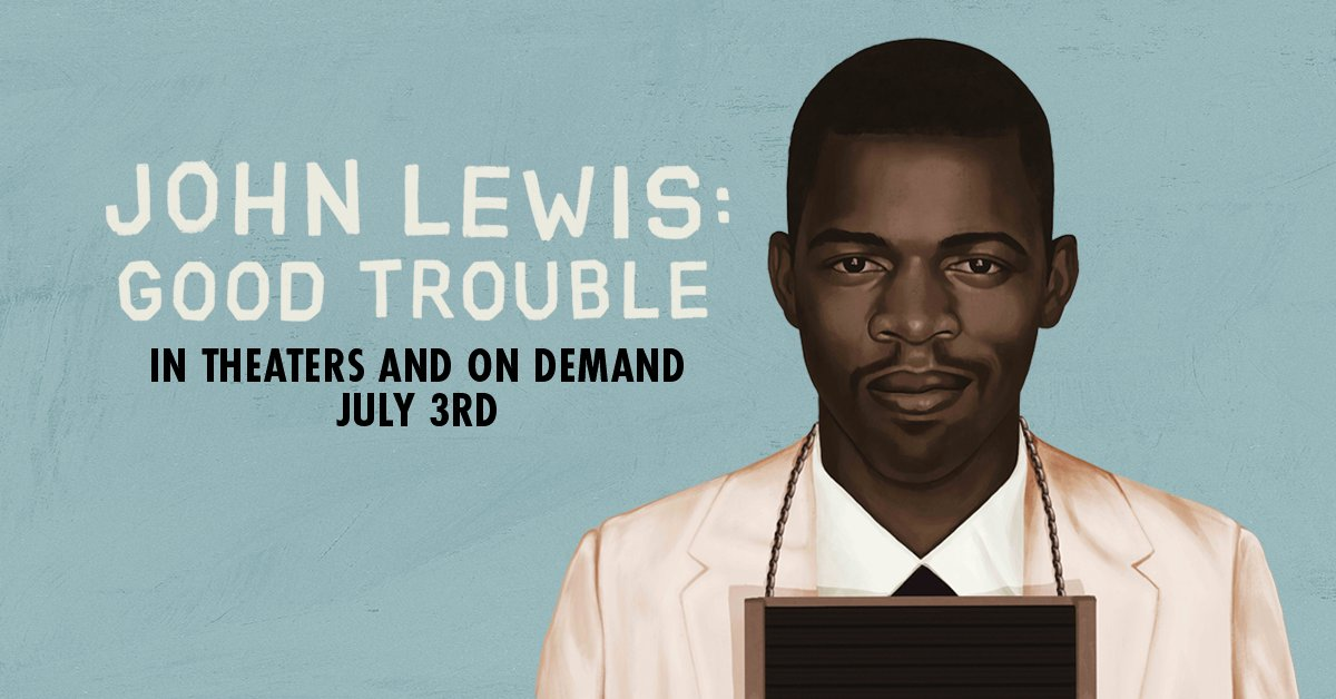 Thousands of protests. 45 arrests. 33 years in Congress. Sometimes change calls for a little trouble. John Lewis: Good Trouble comes to theaters and on demand July 3rd. #JohnLewisIsGoodTrouble