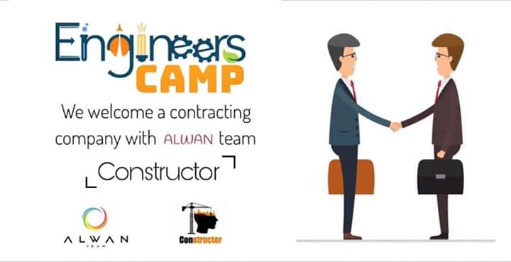 Within the framework of the Engineers Camp. Alwan team brings you the Constructor  https://facebook.com/events/s/engineers-camp/544234269852010/?ti=ia… #Constructor  #Engineers_Camppic.twitter.com/Jnyd2y5cpl