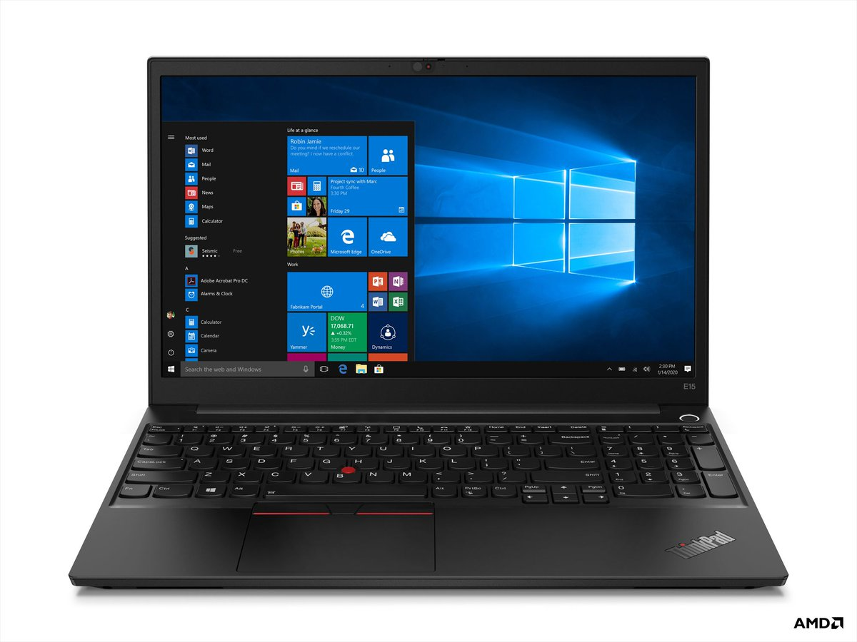 Lenovo's newest ThinkPads have AMD Ryzen 4000 processors