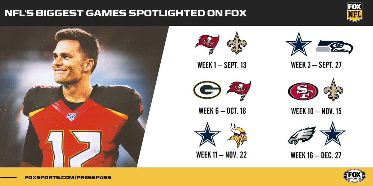 Tom-pa Bay, Titletown, America's Team… All this and more coming to @NFLONFOX this fall.