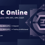 Image for the Tweet beginning: New listing: $EMC #Emercoin Blockchain uses