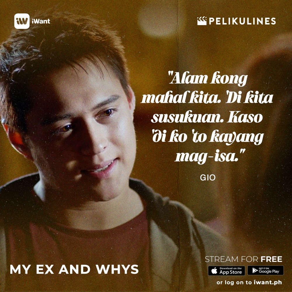'Wag kang susuko ah? Babawi ako sa'yo after quarantine! 🙏❤️  Keep calm, stay safe and stream #MyExAndWhys and more movies on iWant for FREE! 📲💻 https://t.co/19KQY2mfzO  #NASAiWantYAN  @itsenriquegil @lizasoberano https://t.co/Ot0ffrhQNm