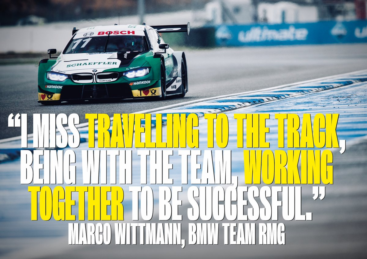 Gardening 🧑🏻🌾 Sweeping the driveway 🧹 Panel beating! 🛠️  All in a day's work for a two-time DTM champion...  Marco Wittmann's #OppositeLockdown 🔒  🗣️ https://t.co/TurtY8mV5X https://t.co/yCK8Um0Vlm