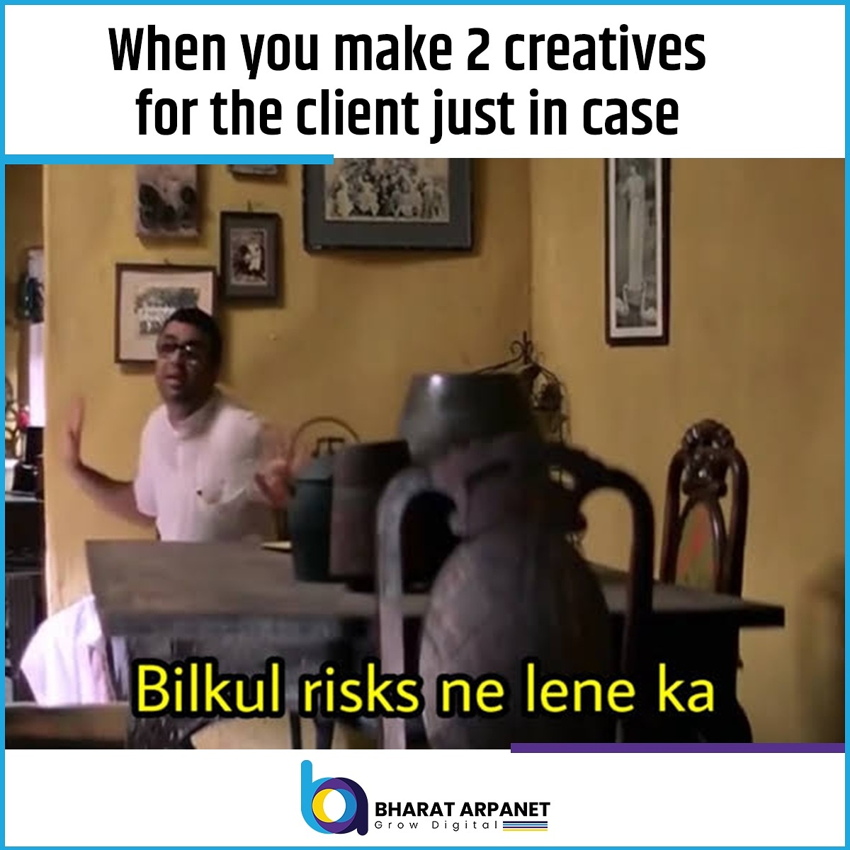 What is your client story? Tell us in the comments  #agencylife #marketingagency #digitallife #digitalbranding #clientstory #BharatArpanet https://t.co/LhwiWGDqmf