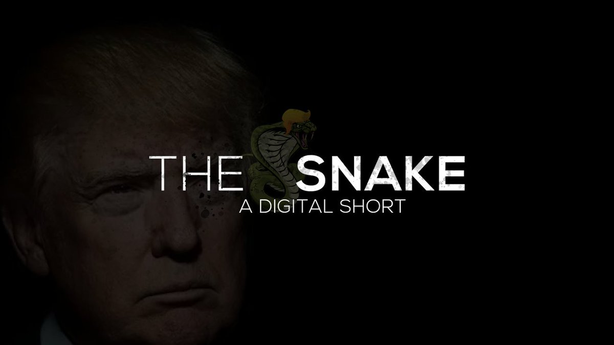 Many people are saying Donald Trump is THE SNAKE! Pass it on.