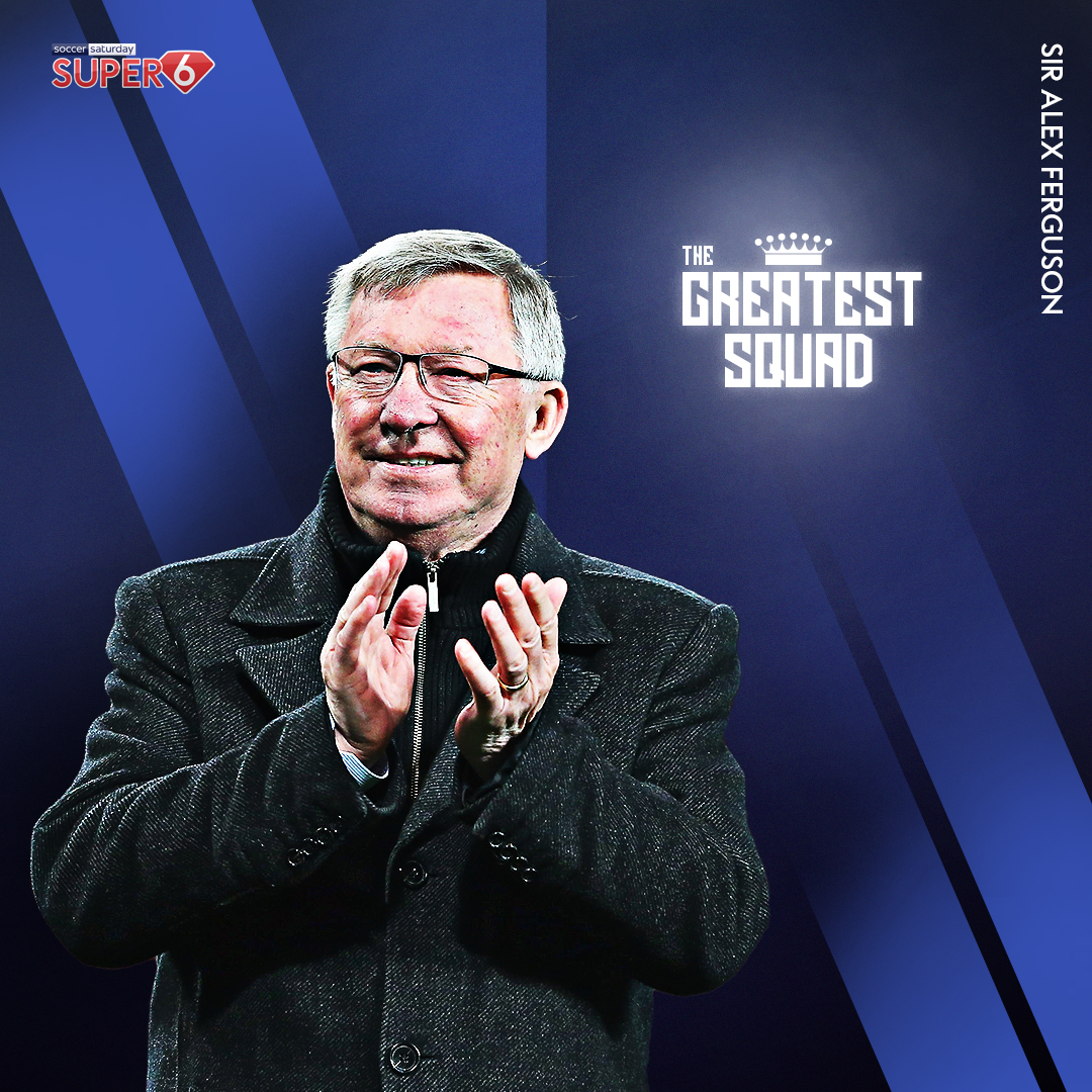 27 years at the @ManUtd helm 🤯 A record 13 #PremierLeague titles 🏆 Simply legendary 👑  It's no surprise you've voted for Sir Alex Ferguson to manage #TheGreatestSquad 🙌 https://t.co/x88M4CixbF https://t.co/pO0I55HWYV