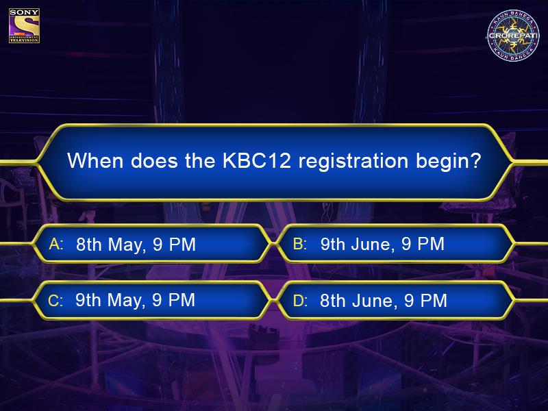 When Does KBC Registration Begin?