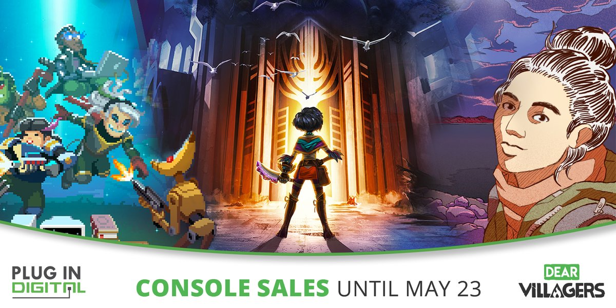 This month, more than 30 Console games from Plug In Digital and Dear Villagers are on sales! #TeamPlugInConsole https://t.co/pppnwPD4rJ