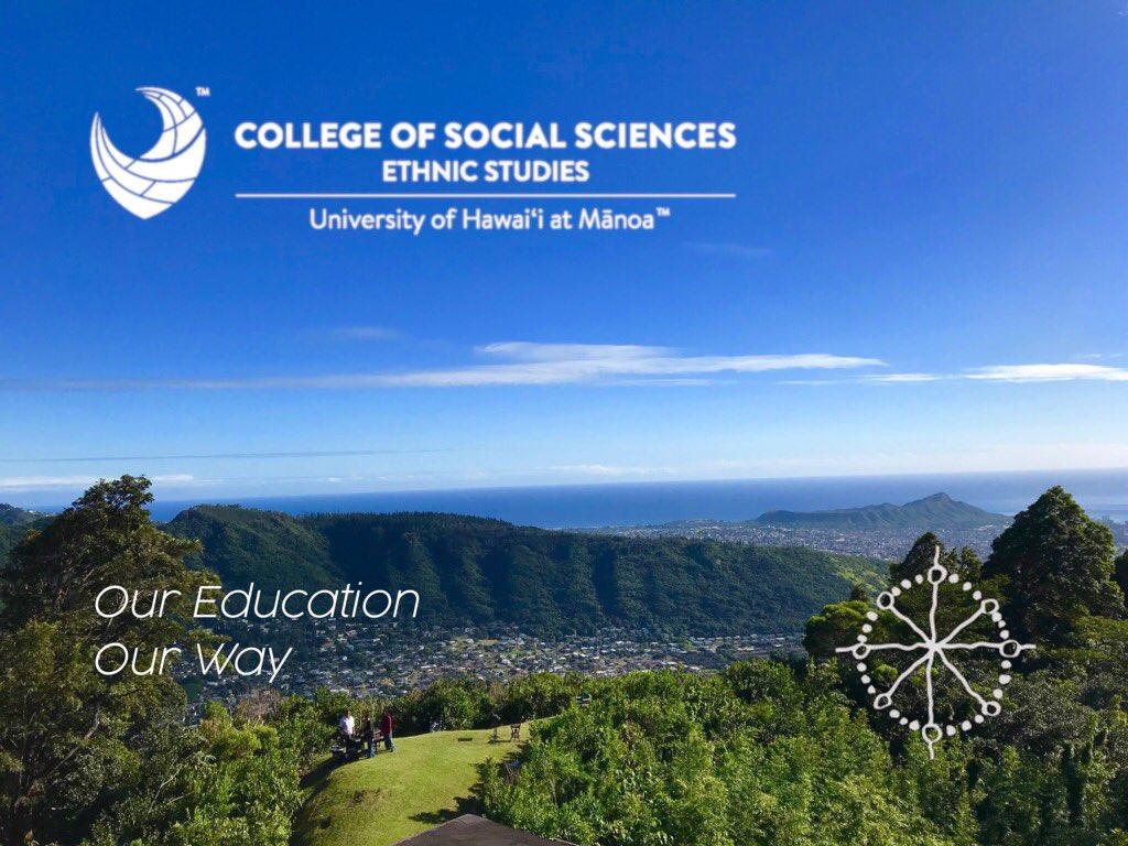 Image for the Tweet beginning: Aloha UH Mānoa students and