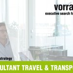Image for the Tweet beginning: SENIOR CONSULTANT TRAVEL & TRANSPORTATION