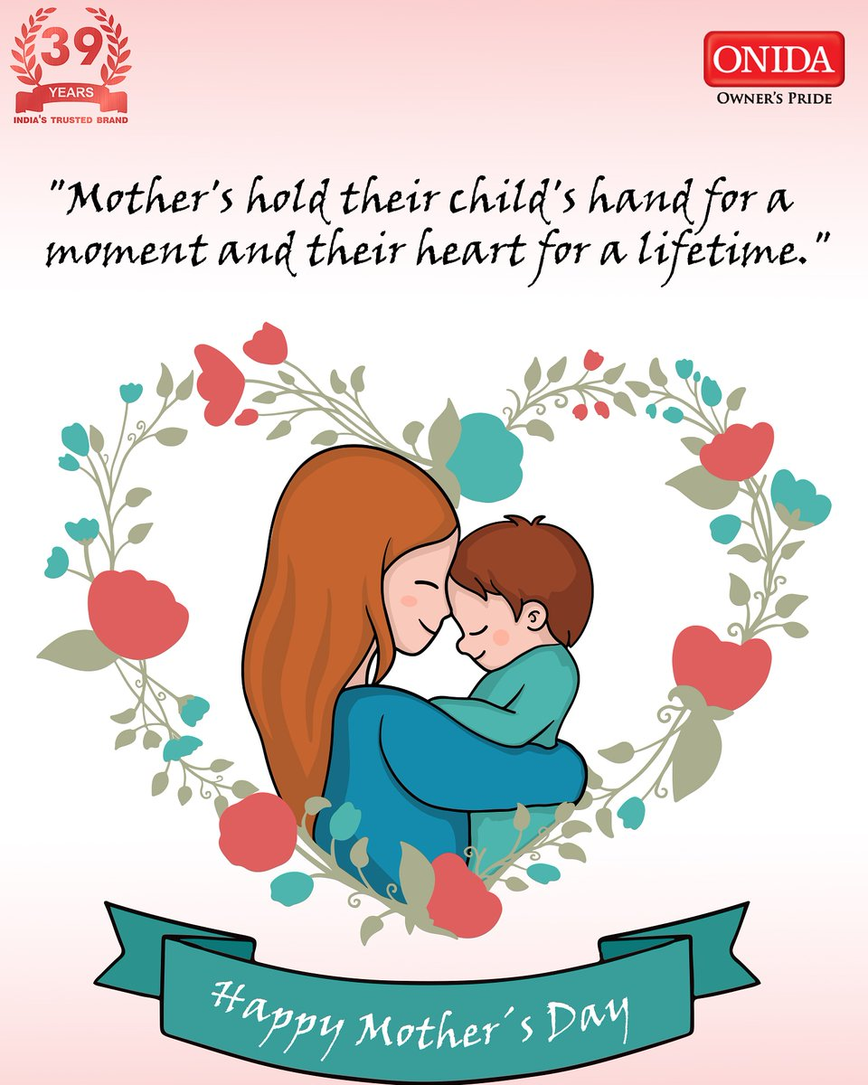 Onida wishes all the Mother's out there a very Happy Mother's Day . #HappyMothersDay #OurRealSuperHeroes #Onida https://t.co/YaBHNyLfEX