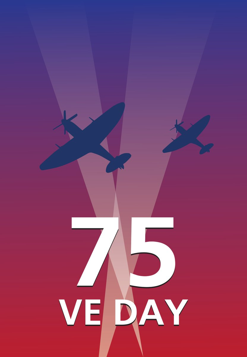 Today we pay tribute to the courageous men and women who made the ultimate sacrifice for their country on what is the 75th anniversary of VE Day. Whos having street celebrations? #VEDay #75Years #VEDayAnniversary