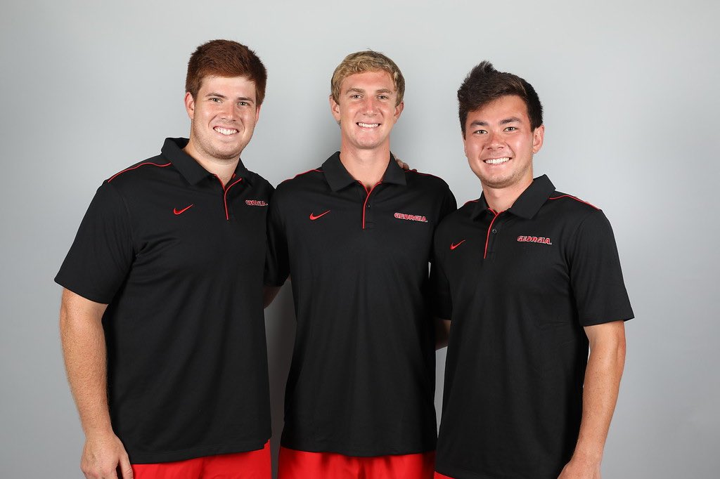 Happy graduation day to our seniors. All three finished with a 3.4 GPA or higher and all our #DGDs forever.