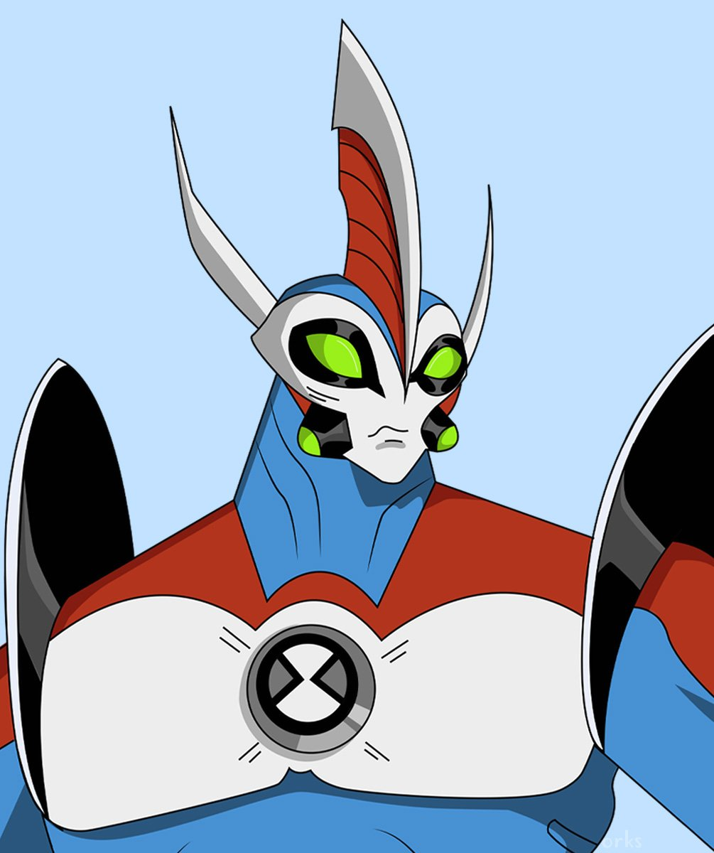Hkartworks Commissions Open On Twitter Ultimate Waybig Classic Version Ben10 Waybig He has a black neck that connects to two red shoulders. hkartworks commissions open on