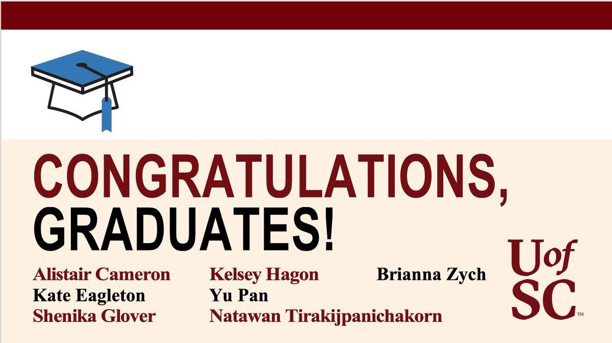 We are proud of our Spring 2020 @UofSC_SJMC MMC program graduates. Congratulations, all! 🎓