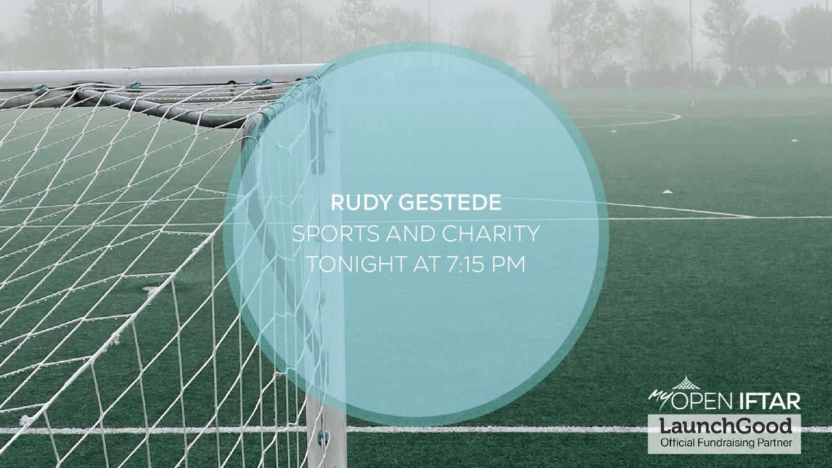 Join us tonight at 7:15pm where we'll be joined by @rudygestede, a professional footballer who plays as a striker for EFL Championship club Middlesbrough and the Benin national team. He'll be talking to us about sports and charity. ⚽️  Register via zoom: https://t.co/Wfm5vh1uwi https://t.co/Yh9HB8mB6c