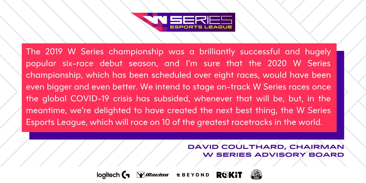 Yesterday, we entered the world of esports. 🙌  @therealdcf1 shares his thoughts on the #WSeriesEsportsLeague.   #WSeries https://t.co/IuekRNWYDn