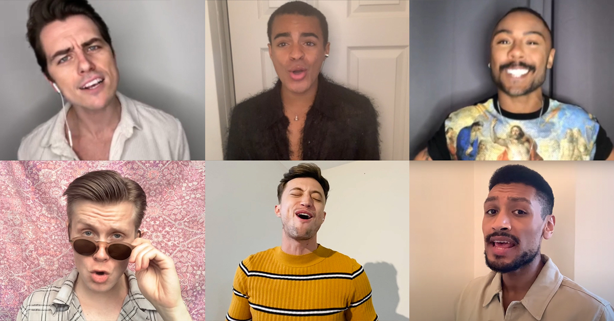 Video: Watch West End stars perform a special cover of 'Ex-Wives' from Six whatsonstage.com/london-theatre…
