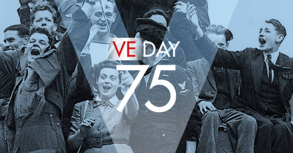 Let's celebrate 75 Years of Victory in Europe today and remember all those who gave so much for our freedom. 🇬🇧✌️#veday75