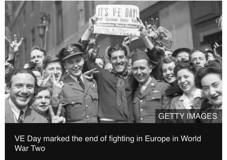 We mark the 75th anniversary of Victory in Europe with historians and veterans #VEDay