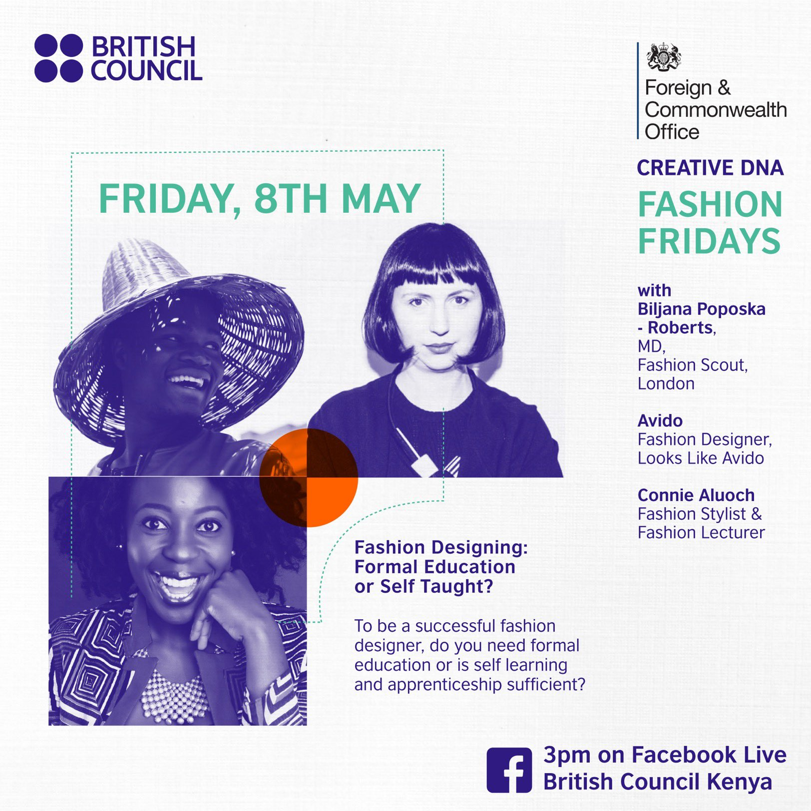 Africa Fashion Week London On Twitter British Council Kenya Is Hosting Fashion Fridays Facebook Live Sessions Join Them Today As They Talk About Fashion Designing Do You Need Formal Education Or Is