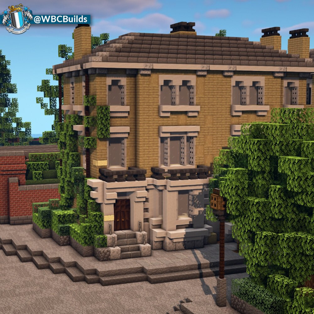 Wbcbooos On Twitter Stonehouse Villas 4 Semi Detached Houses Sitting Along Stonehouse Lane In The Woodside Area Of Walhampton Built With Italianate Details For The Roof And Windows Minecraft Minecraftbuilds Https T Co Qcjdhv2oyz