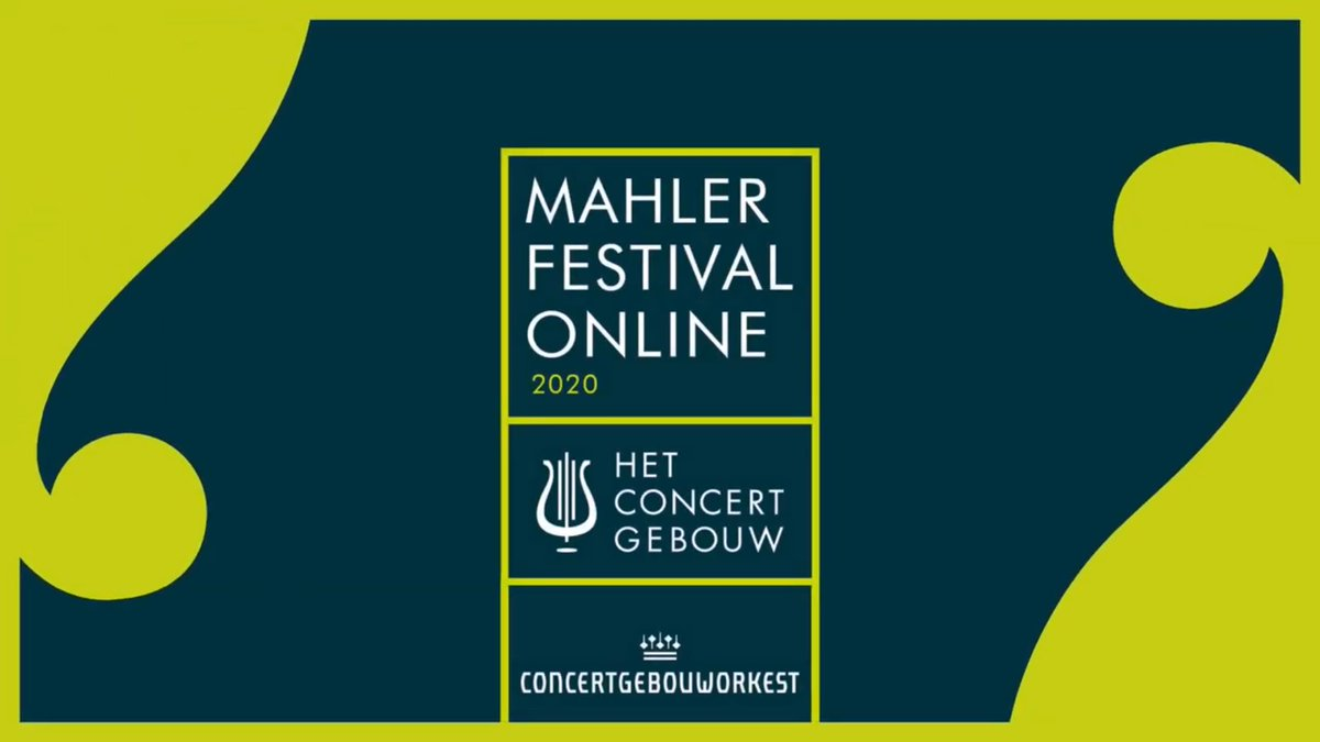 🎶💙 Today the #MahlerFestivalOnline starts! Together with the @Concertgebouw, we present all the #Mahler symphonies, documentaries, introductions and more online from 8 to 17 May. ► More information: https://t.co/hnrbwraEyI https://t.co/rxTvkXaPMB