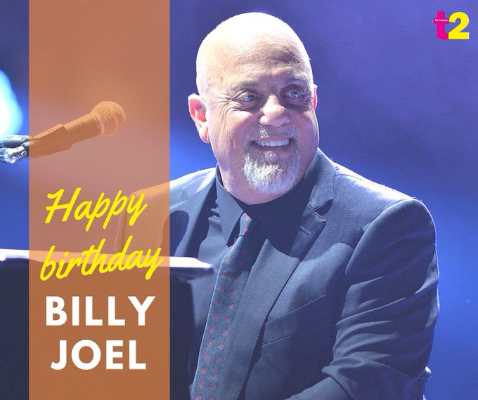 Happy birthday Billy Joel, the man who taught us about a river of dreams.