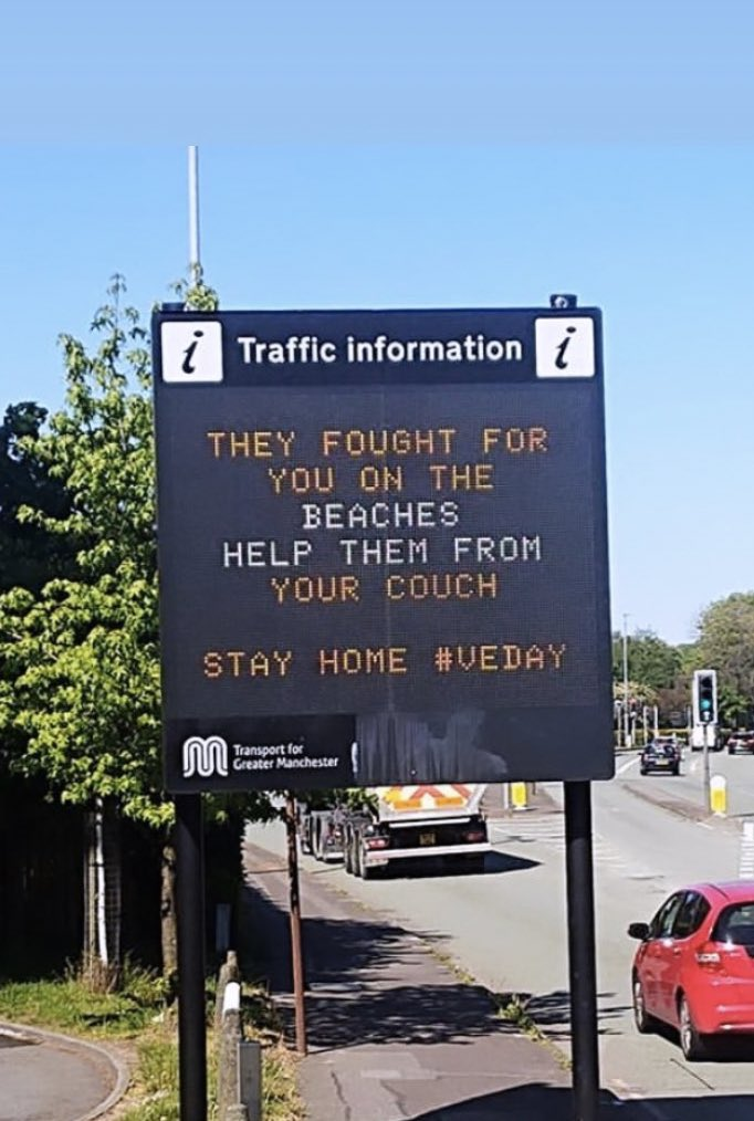👏🏼👏🏼👏🏼👏🏼 @OfficialTfGM #VEDay75