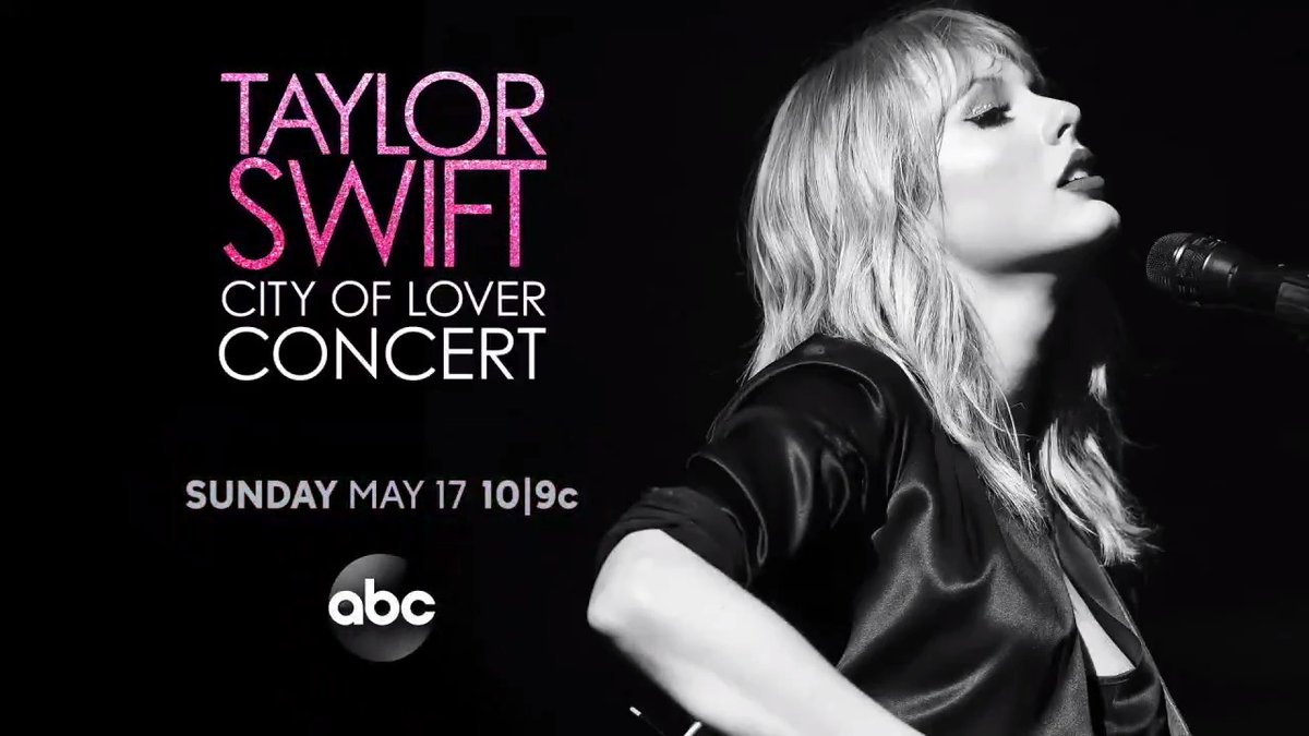 Excited to announce the City of Lover Concert! We filmed my show in Paris in September and thought it'd be fun to share it with you 😄May 17 at 10p ET on @abcnetwork and available the next day on @hulu and @disneyplus! #TaylorSwiftCityOfLover https://t.co/7B3ky0rO5B