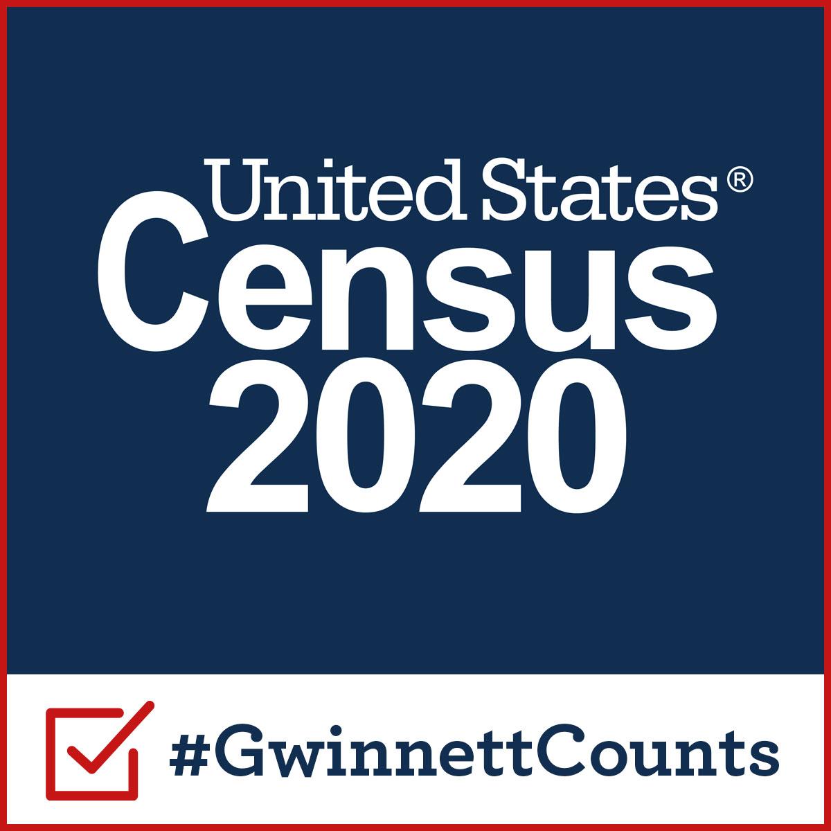 Shape your future. Complete the census. #GwinnettCounts 2020Census.Gov