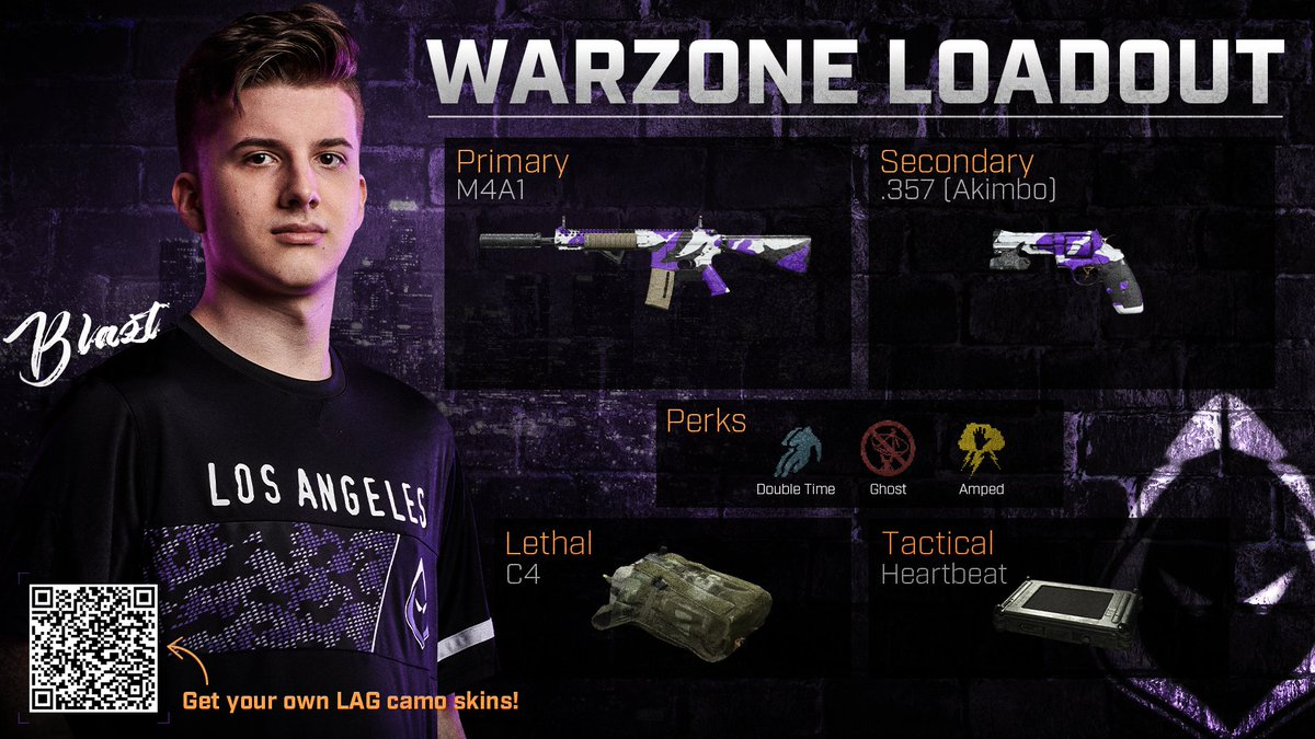 Los Angeles Guerrillas On Twitter Pop Off Like Blazt Check Out The Warzone Loadout That Brought Our Squad To Victory In Yesterday S Livefromwarzone Event Get Your Own Guerrillas Camos Here Https T Co Qgnukotwpf Https T Co Qymcrmuex5