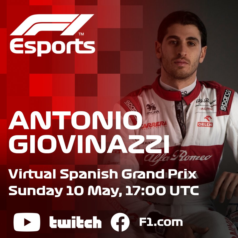 The gloves are off; the race is on 💪  @thibautcourtois makes his second #VirtualGP appearance, this time alongside @Anto_Giovinazzi at @alfaromeoracing!  #F1Esports #RaceAtHome https://t.co/fBgW87h7gM