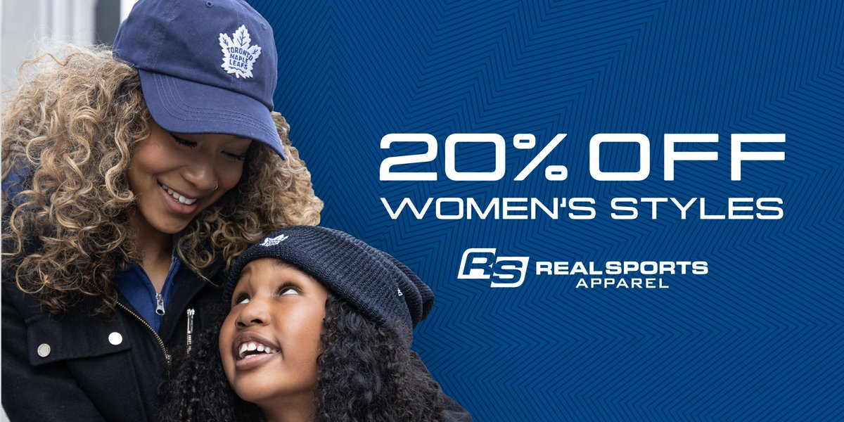 Toronto Maple Leafs On Twitter Great Gifts For Mom Celebrate Mothersday With 20 Off Women S Styles From Realsports Https T Co Vkswjdrlxd