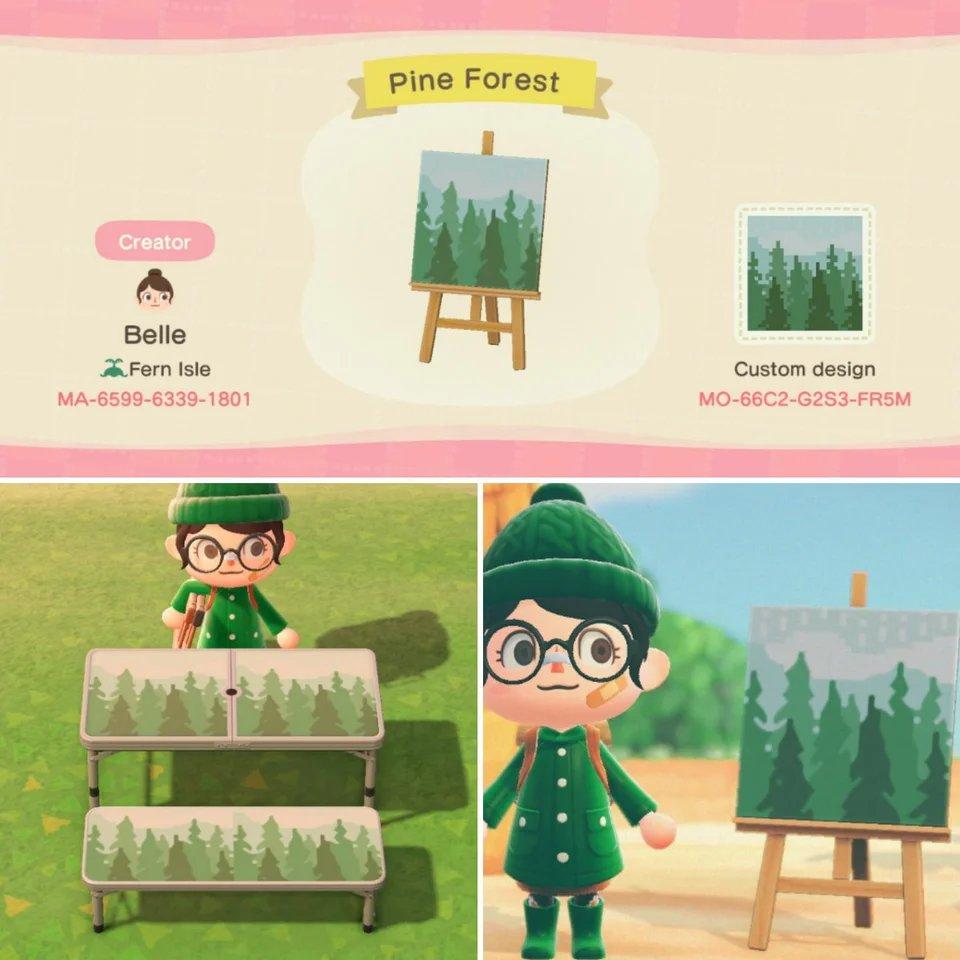 Animal Crossing New Horizons Design Codes on Twitter