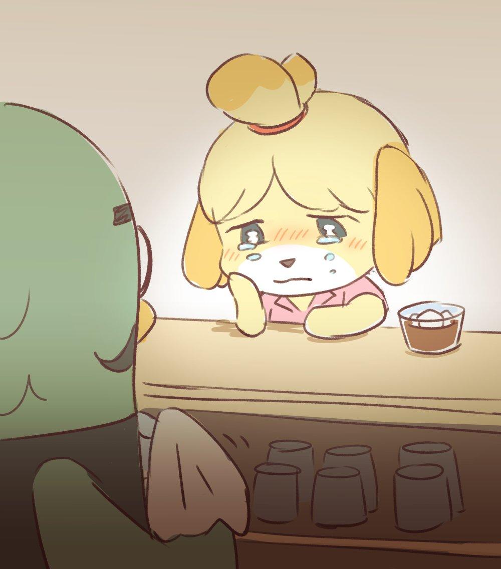 【働く辛さ】コーヒーショップで涙をうかべるしずえさんに共感の声が殺到