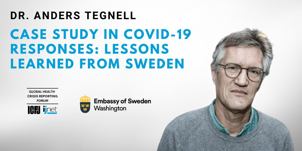 Icfj On Twitter Why Isn T Sweden Telling People To Wear Masks The Science Behind It Isn T Very Strong Dr Tegnell Says And One Of Our Policies Has Been If You Feel Sick