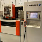 Image for the Tweet beginning: Charmilles Robofil 240cc Wire EDM,