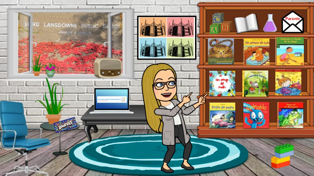 Had so much fun curating & creating this #bitmojiclassroom. Excited to share my virtual @LL_TDSB LLC w/ SK students. Lots of optional French reading, listening, STEAM & fun learning activities linked. Thanks for the inspiration @schooledbypayne #tdsbRL #tdsb #learnathome #llpsllc